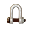 Dee Shackle No 835, Gunnebo - Safety Bolt