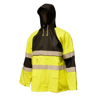 Rainwear-Anti Flame and High Visability
